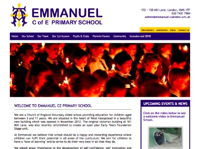 Primary School Web Design