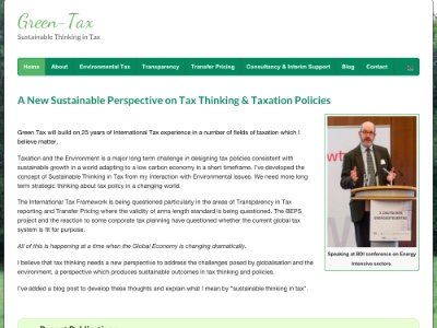 Tax Consultancy Responsive Website
